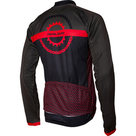 PEARL iZUMi Elite LTD Thermal LS Jersey Men chain ring black/torch red/forest